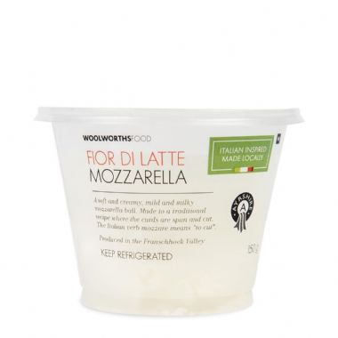 FIOR DI LATTE - <a href='http://www.woolworths.co.za/store/prod/Food/Food/Dairy-Eggs-Milk/Cheese/Fresh-Cheese/Fresh-Fior-Di-Latte-150g/_/A-6009173166494' target='_blank'>BUY NOW</a>
