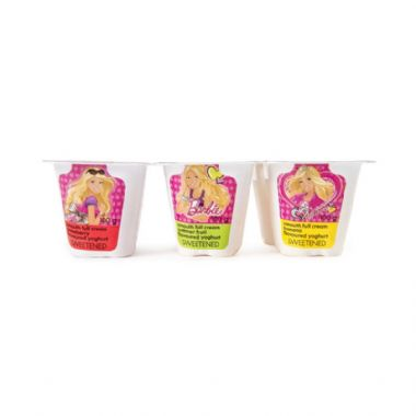 6x100G FULL CREAM AYRSHIRE YOGHURT - <a href='http://www.woolworths.co.za/store/prod/Food/Food/Dairy-Eggs-Milk/Yoghurt/Kids-Yoghurts/Barbie-Ayrshire-Full-Cream-Yoghurt-6x100g/_/A-6001009039859' target='_blank'>BUY NOW</a>
