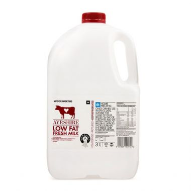 3L AYRSHIRE LOW FAT MILK - <a href='http://www.woolworths.co.za/store/prod/Food/Food/Dairy-Eggs-Milk/Milk/Fresh-Milk/Low-Fat-Fresh-Milk/Fresh-Low-Fat-Ayrshire-Milk-3L/_/A-6001009001740' target='_blank'>BUY NOW</a>