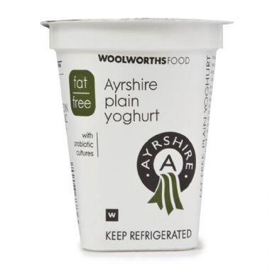 150G AYRSHIRE FAT FREE YOGURT - <a href='http://www.woolworths.co.za/store/prod/Food/Food/Dairy-Eggs-Milk/Yoghurt/Plain-Yoghurt/Fat-Free-Ayrshire-Plain-Yoghurt-150g/_/A-20187736' target='_blank'>BUY NOW</a>