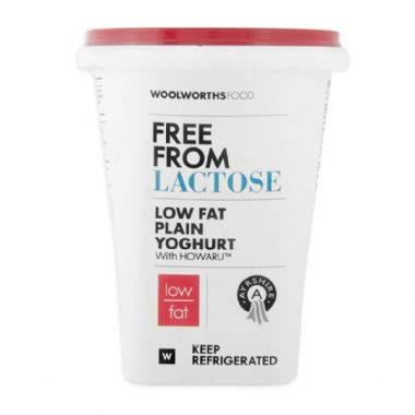 IKG AYRSHIRE LOW FAT LACTOSE FREE YOGURT - <a href='http://www.woolworths.co.za/store/prod/Food/Baskets/Healthy-Living-Campaign/Dairy-Sensitive-Meal-Plan/Lactose-Free-Low-Fat-Ayrshire-Plain-Yoghurt-500g/_/A-6009175653770' target='_blank'>BUY NOW</a>