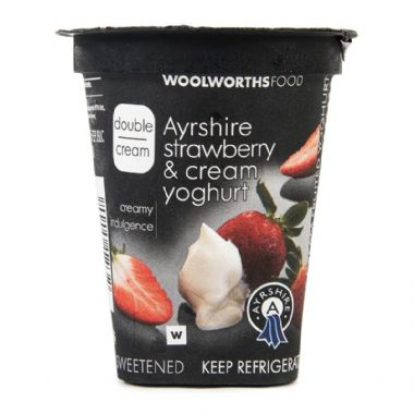 150G DOUBLE CREAM AYRSHIRE YOGURT - <a href='http://www.woolworths.co.za/store/prod/Food/Food/Dairy-Eggs-Milk/Yoghurt/Double-Cream-Yoghurt/Double-Cream-Strawberry-Cream-Yoghurt-150g/_/A-20151232' target='_blank'>BUY NOW</a>